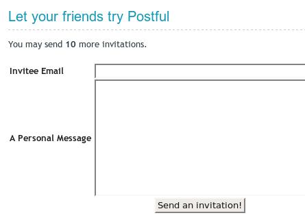 Invite Form